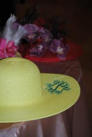 The tea room was a sea of delightfully trendy, elegant, and stylish hats